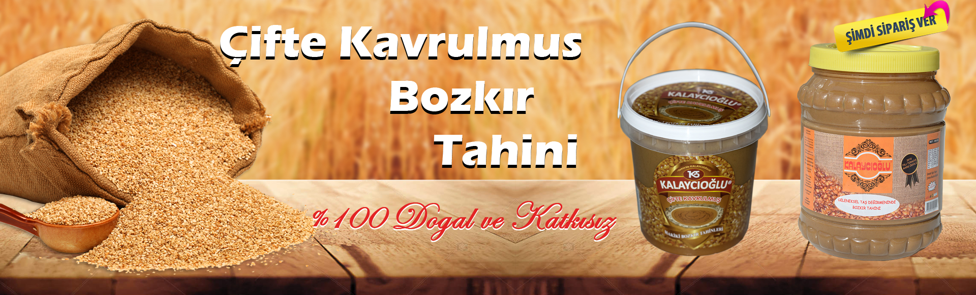 Bozkır Tahini - Kalaycıoğlu Tahin