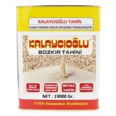Kalaycıoğlu Beyaz Bozkır Tahini 19 KG TENEKE